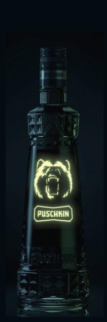 Abbildung Puschkin Glow in the Dark Edition - Dark